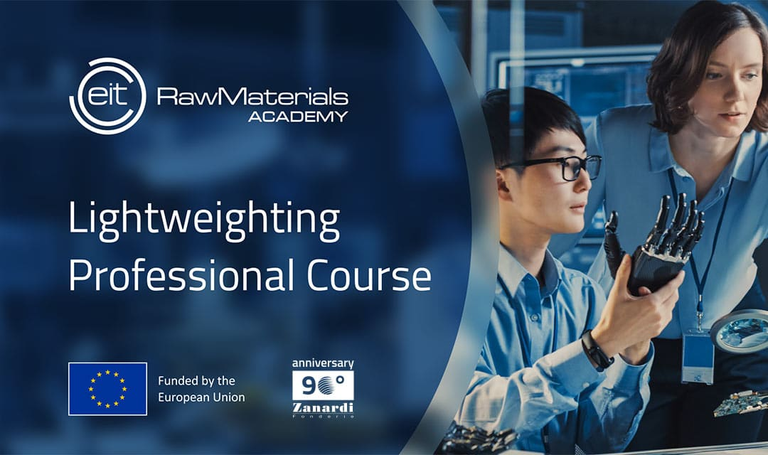 """Lightweight 2021: Die zweite Ausgabe des Online-Kurses zum Thema """"Fortschrittlicher Sphäroguss"""" für leichtere und nachhaltigere Komponenten beginnt"""