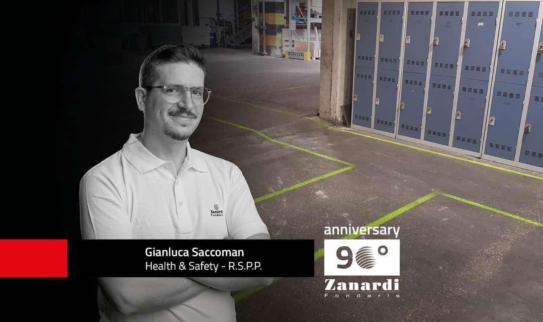 Strecken mit Led-Beleuchtung in den Produktionsabteilungen, um mehr Sicherheit zu gewährleisten